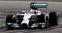 MERCEDES AMG PETRONAS F1 TEAM W05 -  WINNER MALAYSIAN GP 2014