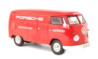 Volkswagen T1 box wagon,  Porsche racing team