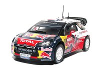 Citroen DS3 WRC n. 1 World Champion rally GB 2011