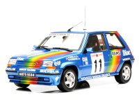 Renault 5 GT Turbo n. 11 rally Monte Carlo 1990