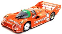 Porsche 962 C n. 17 winner 1000km Spa 1986