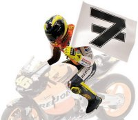 Figurine Valentino Rossi World Champion 2003