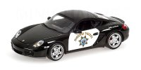 Porsche Cayman S Highway Patrol Car
