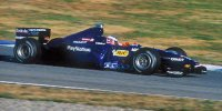 PROST PEUGEOT AP02 JENSON BUTTON 1ST F1 TEST DECEMBER 1999