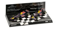 RED BULL RACING RB7 SET CONSTRUCTOR WORLD CHAMPION 2011