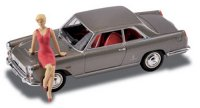 Lancia Flaminia Coupe 3B 1962 Toy Fair with Figure