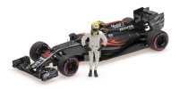 MCLAREN HONDA MP4-31 – FINAL GP ABU DHABI 2016 model s figurkou