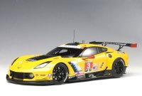 Chevrolet Corvette C7 R Lime Rock 2016 2nd. place N.3