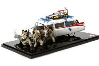 Cadillac Ambulance Ghostbusters Ecto-1 30TH Anniversary Edition With Figures