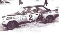Fiat 131 Abarth n. 2 Rally Monte Carlo 1978