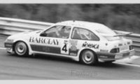 Ford Sierra RS Cosworth n. 4 WTCC 24h Spa 1987