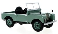 Land Rover series I RHD without canopy 1957