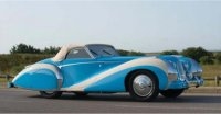 Talbot-Lago T26 Grand Sport Cabriolet Saoutchik closed 1948