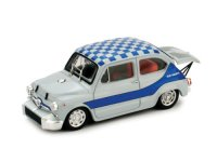 Fiat Abarth 1000 Berlina 1968 Officiale blue