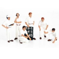 F1 PIT Crew Figurines Classic Style White