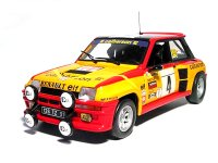 Renault 5  Turbo n. 4 Calberson rally Tour de France  1980